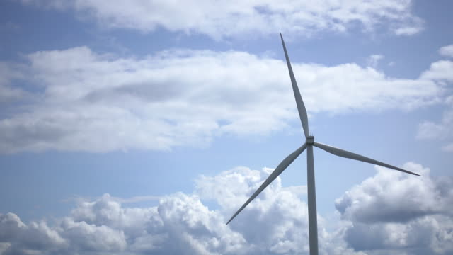 aerial view of windmill - electrical component stock videos & royalty-free footage