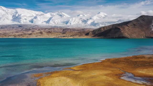 新疆ウイグル自治区の空中写真 - 新疆ウイグル自治区点の映像素材/bロール