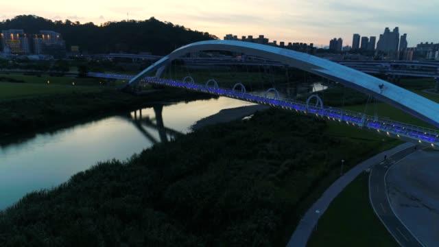 陽光橋、新台北、台湾の空撮