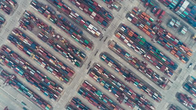 Aerial View of Yangshan Port
