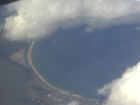 Aerial view on earth