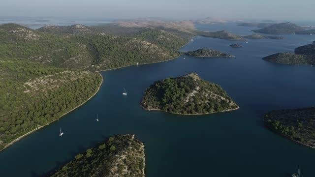 Aerial View on Travel Destination in Mediterranean Sea