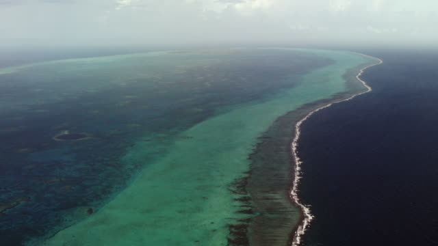 Aerial View Over Lighthouse Reef