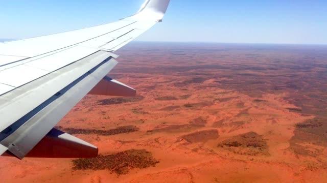 Luchtfoto uitzicht over noordelijk grondgebied woestijn Australië