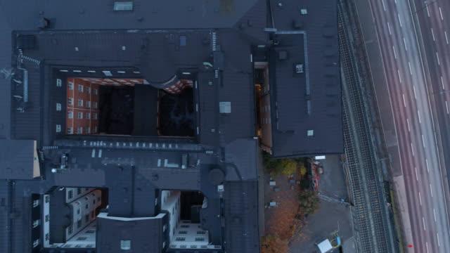 luftaufnahme über stockholm - stockholm stock-videos und b-roll-filmmaterial