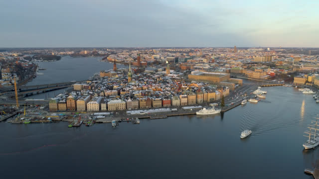 flygvy över stockholm - remus kotsell bildbanksvideor och videomaterial från bakom kulisserna