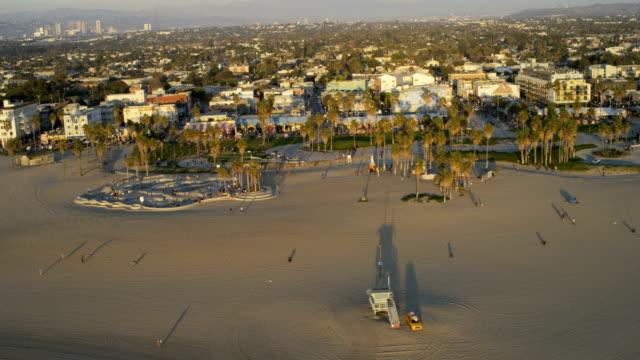 aerial view pacific ocean coastal condominiums los angeles - malibu stock videos & royalty-free footage