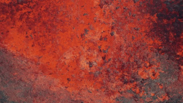 aerial view red hot magma from earths crust - igneous stock videos & royalty-free footage