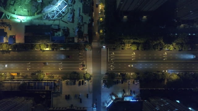 Aerial view rotation- intersection