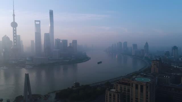 Luftbild Skyline von Shanghai