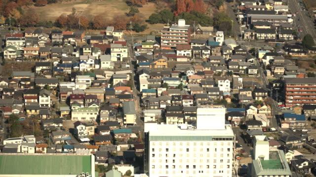 上からの眺め: 岐阜県岐阜市の小さな村