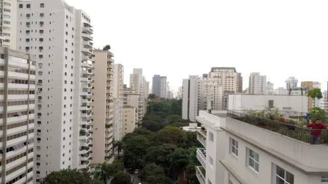 Aerial view to Sao Paulo