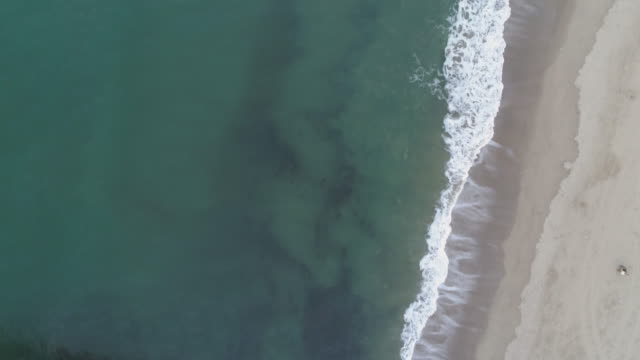 aerial view top down of santa monica pier - santa monica pier stock videos & royalty-free footage