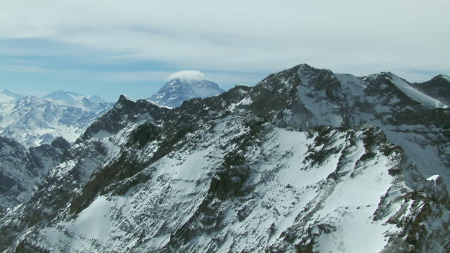 Aerial View Toward Mount Aconcagua