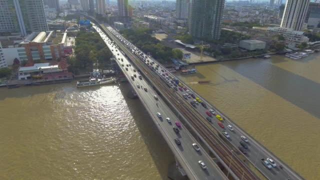 空撮空鉄道輸送 - 橋点の映像素材/bロール