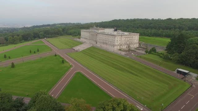 aerial view - belfast stock videos & royalty-free footage