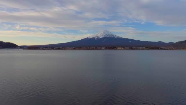 航空写真ビュー: 富士山