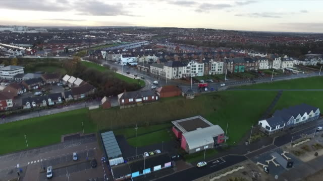 aerial views of sunderland - north east england stock videos & royalty-free footage
