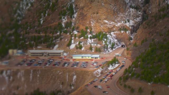 aerial views of the - external buildings and tunnel entrance - 米国国防総省点の映像素材/bロール