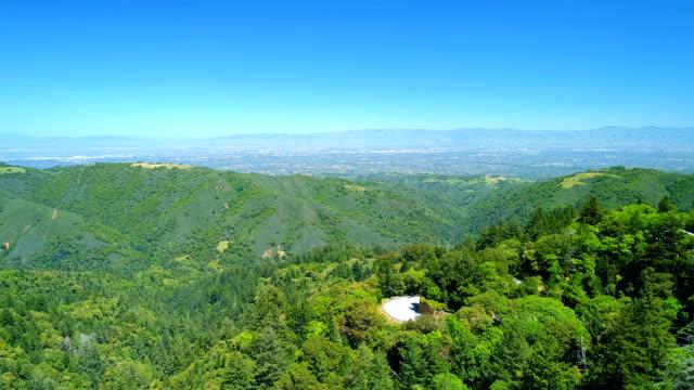 aerial views on silicon valley - san jose california stock videos & royalty-free footage