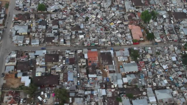Aerial views residential homes in the Alexandra township district of Gauteng province in Johannesburg South Africa on Saturday Dec 14 2013...