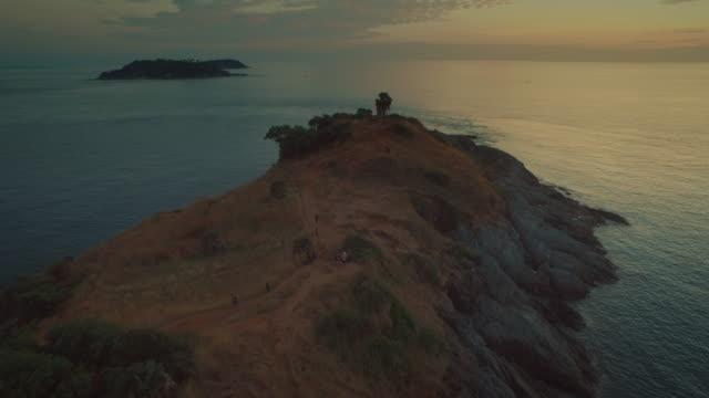 Luchtfoto: The Promthep cape uitkijkpunt, Phuket Island