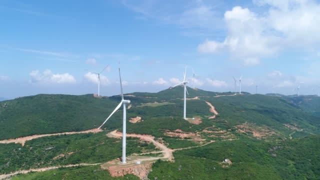 空中風力発電 - 数個の物点の映像素材/bロール