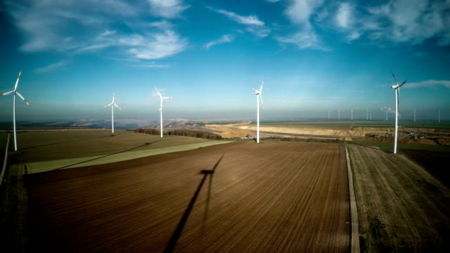 Aerial Windturbinen