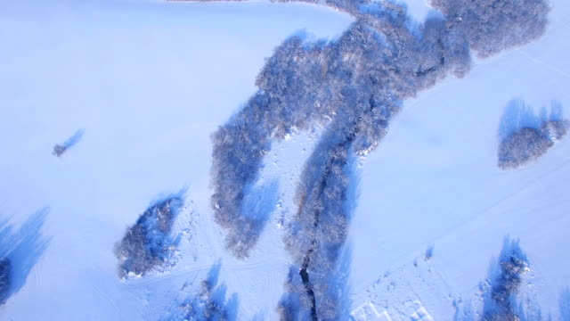 Aerial vintern video