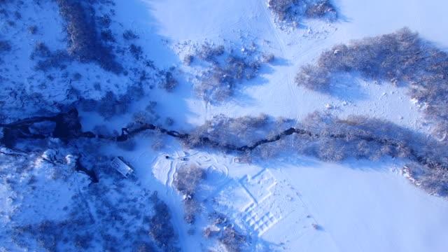 Aerial winter video