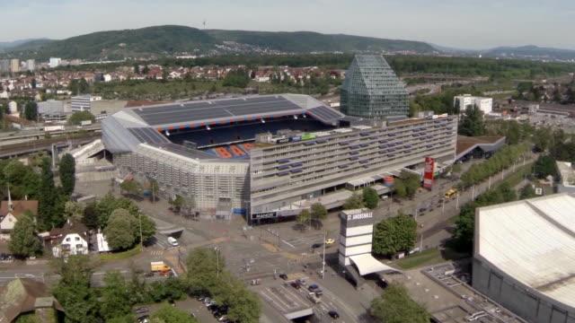 Aerial W/S FCB Football Stadion