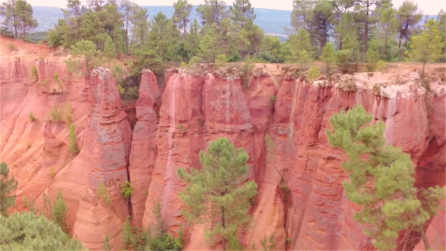 Aerial W/S Ochre Rocks of Roussillon