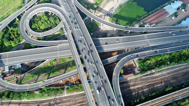 Aerial  Wuxi overpass