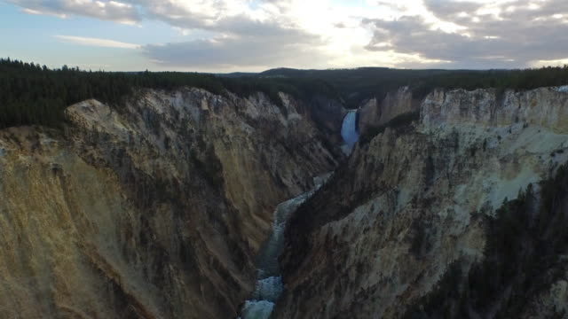 aerial wyoming yellowstone national park - old faithful stock videos & royalty-free footage