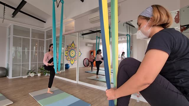 IDN: Yoga places are back active after the Covid-19 pandemic has decreased in Indonesia