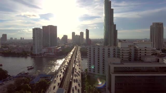 航空: バンコク タイの首都 - バンコク点の映像素材/bロール