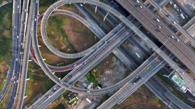 Aerial:Highway traffic