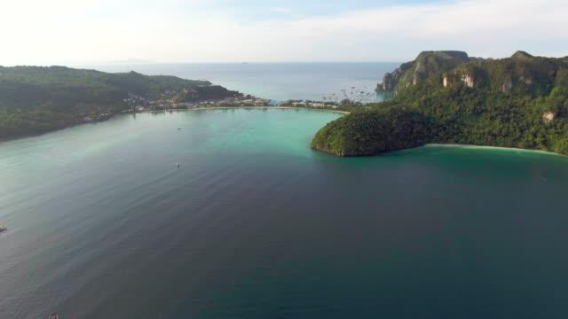 Aerial:Phi Phi island ,Thailand