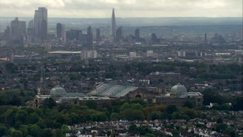 aerials harringay - urban sprawl stock videos & royalty-free footage