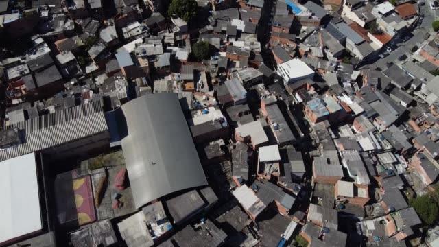 aerials of brasilandia amidst the coronavirus pandemic on may 10, 2020 in sao paulo, brazil. brasilandia is the neighborhood of sao paulo with the... - rio de janeiro stock videos & royalty-free footage