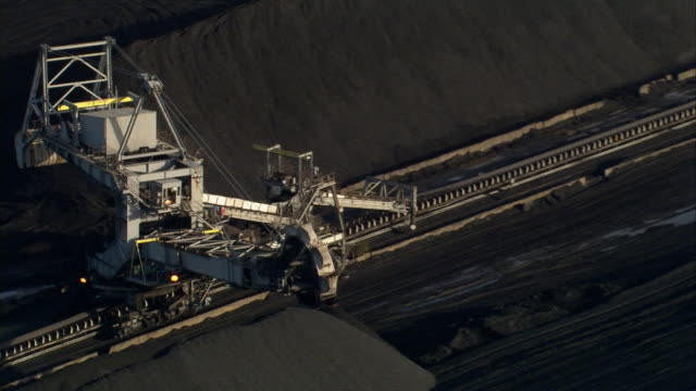 Aerials of coal at Drax power station in Selby North Yorkshire