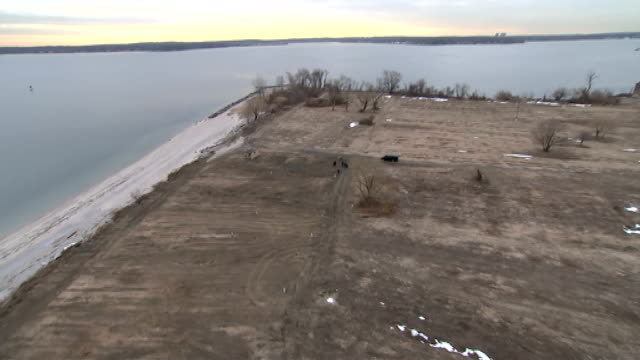 aerials of hart island more aerials of hart island - hart island stock videos & royalty-free footage