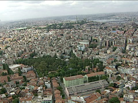aerials of istanbul - no earthquake damage seen - 1999 stock videos & royalty-free footage