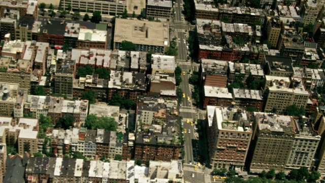 aerials of new york city, manhattan, upper west side, w 81st st, the beresford, central park west - upper west side manhattan stock videos and b-roll footage