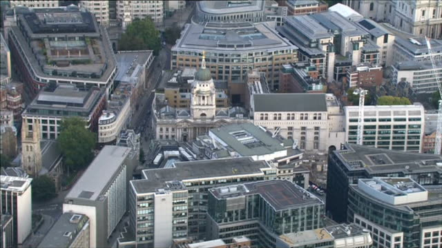 london of old bailey including gold lady justice statue atop old bailey / central criminal court entrance few photographers and camera operators... - statue of justice london stock videos and b-roll footage