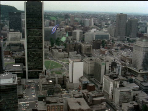 1976 aerials of toronto - toronto stock videos & royalty-free footage