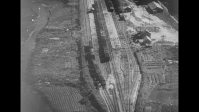 aerials over south korea during the korean war. - 1951 stock videos & royalty-free footage