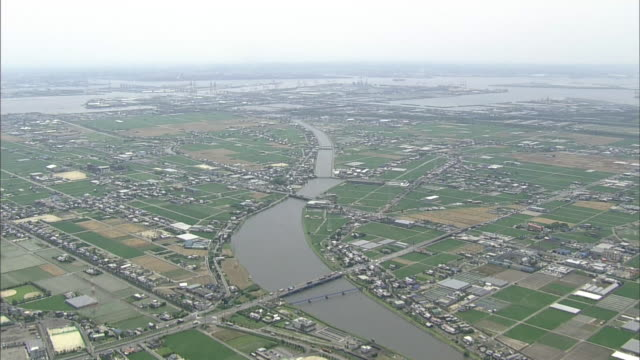 Aerials Port Of Nagoya Area