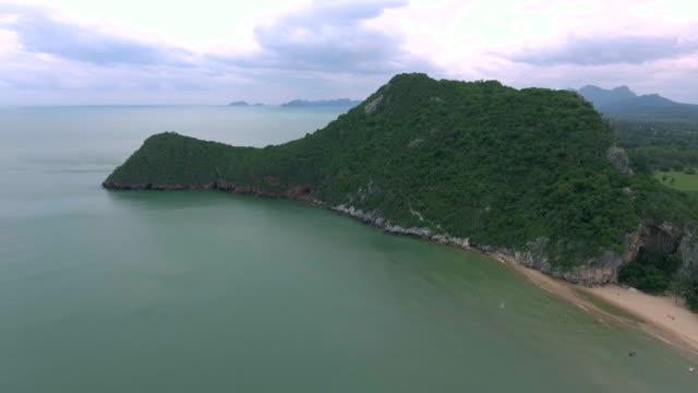 Aerial:South of thailand island