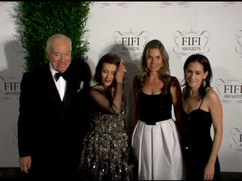 aerin lauder, evelyn h lauder and family at the 34th annual fifi awards presented by the fragrance foundation at the hammerstein ballroom in new... - aerin lauder stock videos & royalty-free footage